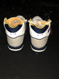 pair of white-and-blue Nike sneakers Grovetown, 30813