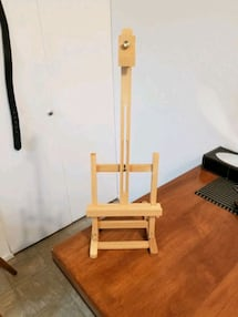 To tabletop artist easels both for $20