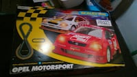Scalextric opel motorsport slot car track