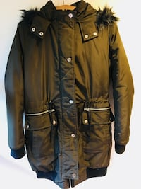 Army Green Winter Coat 6241 km