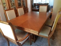 ARCESE BROTHERS FURNITURE – 9 pc DINING ROOM SET fr sale in Kitchener TORONTO