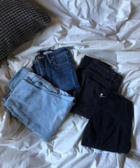 Jeans and leggings // denim // contact for sizes and conditions  Vancouver, V5S 1N9
