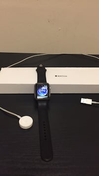 black Apple watch with black sports band Suitland, 20746