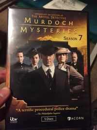 Murdoch Mysteries season 7 DVD Woods Cross, 84087