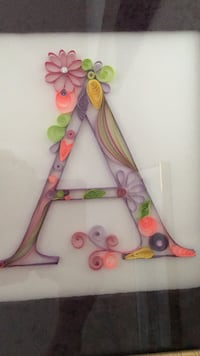Quilled letter A London, N6J 3Z6