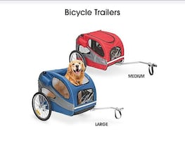 Uline Pet Bicycle Trailer *PRICE DROP*