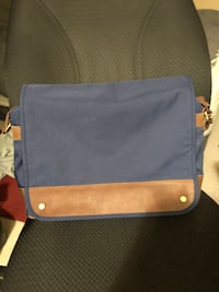 blue and brown leather crossbody bag New Westminster, V3M
