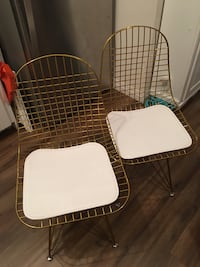 2 Gold Wire Chairs from Wayfair Toronto, M1R 3A6