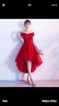 Women's red dress Chicago, 60608