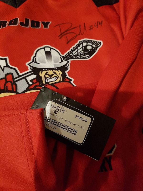 50047d21ee Used Adult large Rough necks jersey signed. Brand new for sale in ...