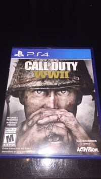 PS4 - Call Of Duty: WWII *MINT* Edmonton, T5S 1T5