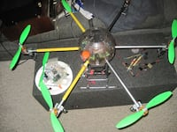 Giant Aluminum Hexcopter Cary