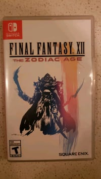 Final fantasy XII for nintendo switch new Toronto, M4Y 0A9