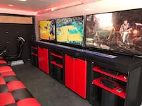 mobile gaming and virtual reality truck North Dumfries