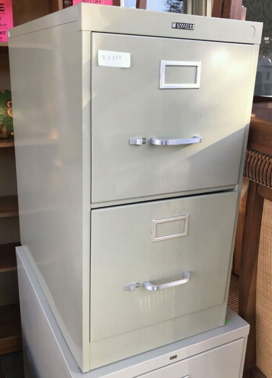 used 22852 anderson hickey 26 u201d 2 drawer file cabinet for sale in rh us letgo com