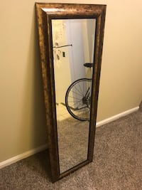 Gold framed decorative mirror Quincy, 02169