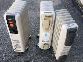 Heaters  1 for $40. All for $65