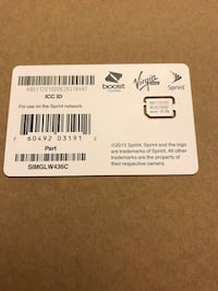 Sim Card / accepted Offers Tustin, 92780