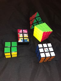 RUBIX CUBES (all for 20$) London, N6G