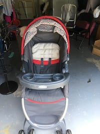 baby's gray and red stroller Palm Coast, 32137