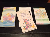 Assorted baby shower games