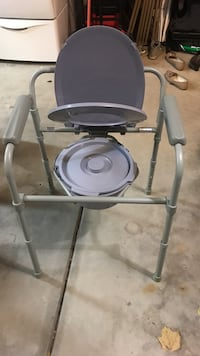 Black and gray commode Orland Park, 60467