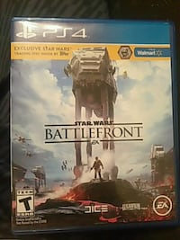 Star Wars Battlefront PS4 game case Tuscumbia, 35674