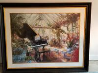 FRAMED Stephen Charles Shortridge - Romantic Impre Bowie