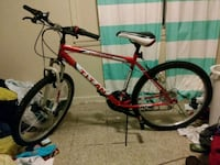 red and black hardtail bike New Albany, 47150