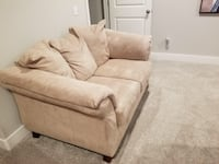 Beige love seat and sofa both for $200.  FAYETTEVILLE