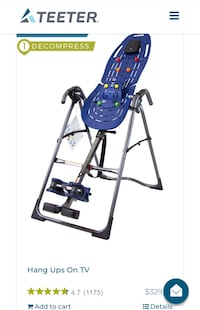 Brand New Teeter inversion table  Waldorf, 20602