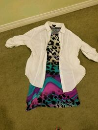 Top and dress size m Calgary, T2C