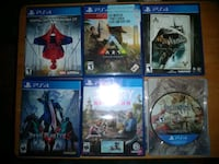 PS4 Games 25.00 each