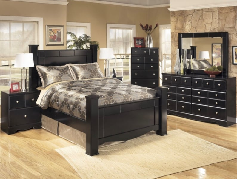 Used Ashley Signature Collection 6 Piece Queen Set For Sale In