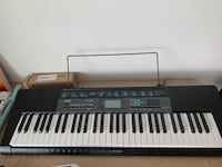 Piano (eletronic keyboard) with pedal