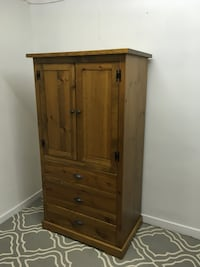 brown wooden cabinet with drawer Abbotsford, V2T 2H3