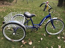 """Tricycle Torker Tristar with 26"""" Wheels"""