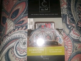 Cal King Comforter bed Set +Extras