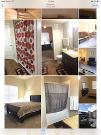 Fully furnished APT For rent 2BR 2BA with spacious living room Houston