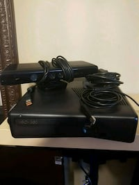 black Xbox 360 console with controller Cambridge, N1P 1G7
