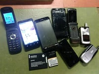 Cell phone parts / batteries/ working lot