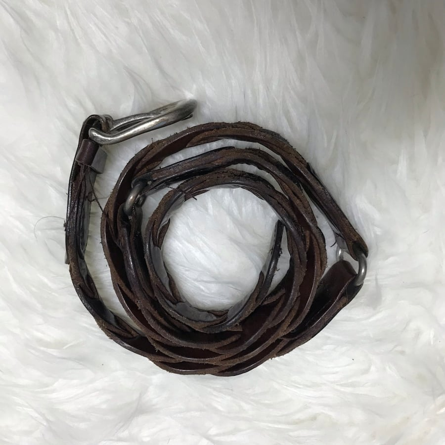 Hollister Braided Belt