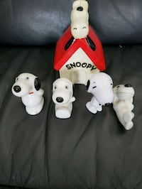 VINTAGE GLASS SNOOPY COLLECTABLES  Montreal, H9H 1E3