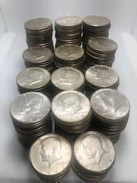 Silver Half dollars coins