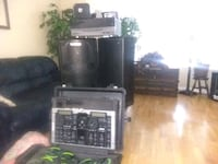 Complete DJ equipment comes with everything needed Edmonton, T6L 6T1