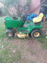 green and yellow ride on lawn mower North Springfield, 22151