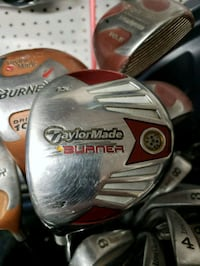 GOLF CLUB: LH TaylorMade 3 Hampton