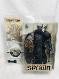 SKULLSPLITTER with MASK Variant Figure Spawn  Viking series 22 (SP-1). Daly City, 94014