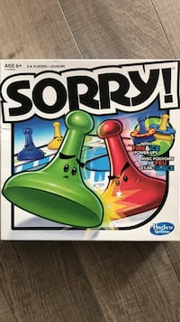Sorry board game box Vaughan, L4J