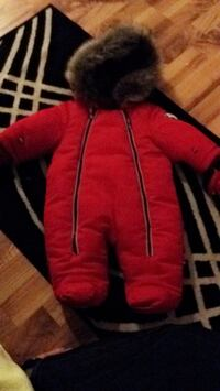 toddler's red and brown pram suit Moncton, E1C 6P4
